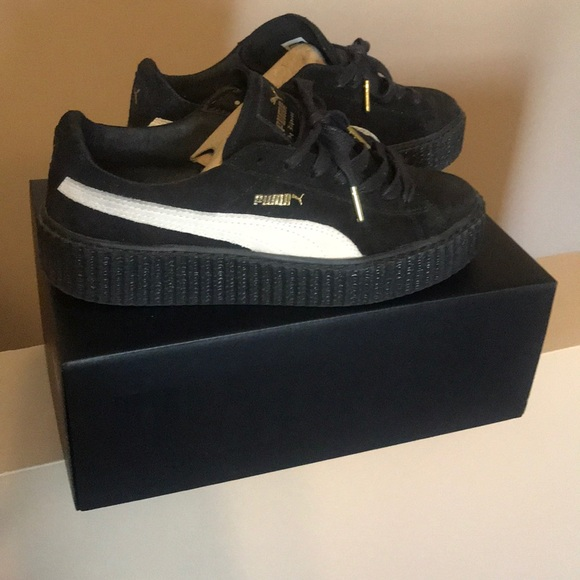 e602ce83faa Fenty Beauty Shoes - Rihanna s Fenty Suede creepers
